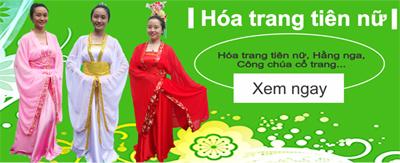 banner hóa trang tiên nữ
