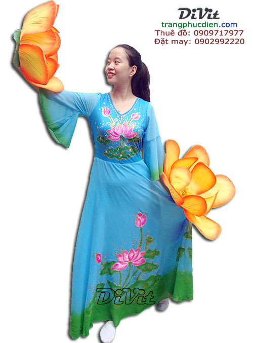Cho-thue-dam-mua-sen-xanh